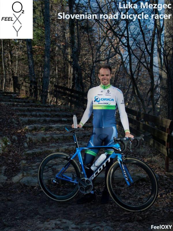 Luka Mezgec - Slovenski pofesionalni kolesar prisega na FeeloXY
