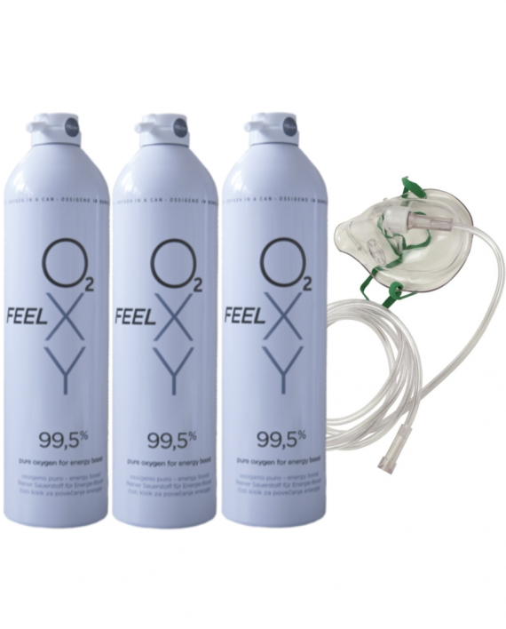 Trio 12 l oxygen mask